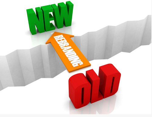 rebranding new and old